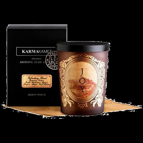 6. KARMAKAMETOriginal Aromatic Glass Candle