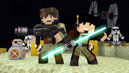 Map for MCPE - Star Wars Battle ( Minecraft PE ) - náhled
