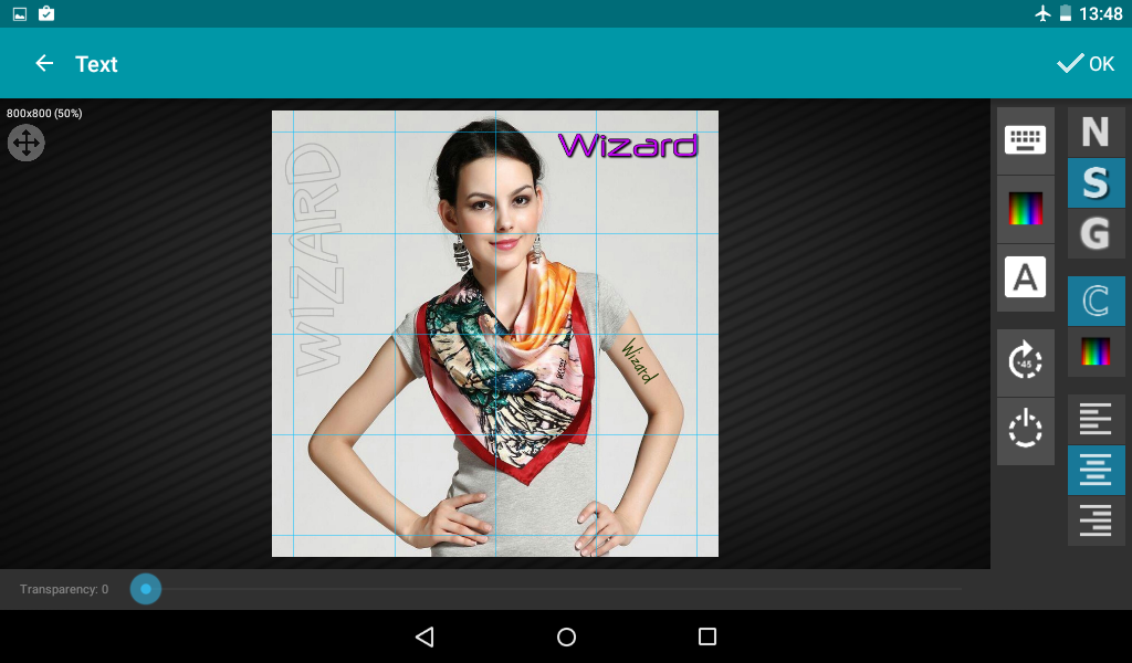 Wizard Photo Editor- screenshot