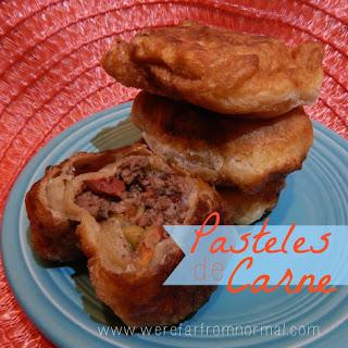 Pasteles de Carne & A Cookbook Review