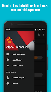Alpha Cleaner VIP [Boost & Optimize] - 50% OFF Screenshot