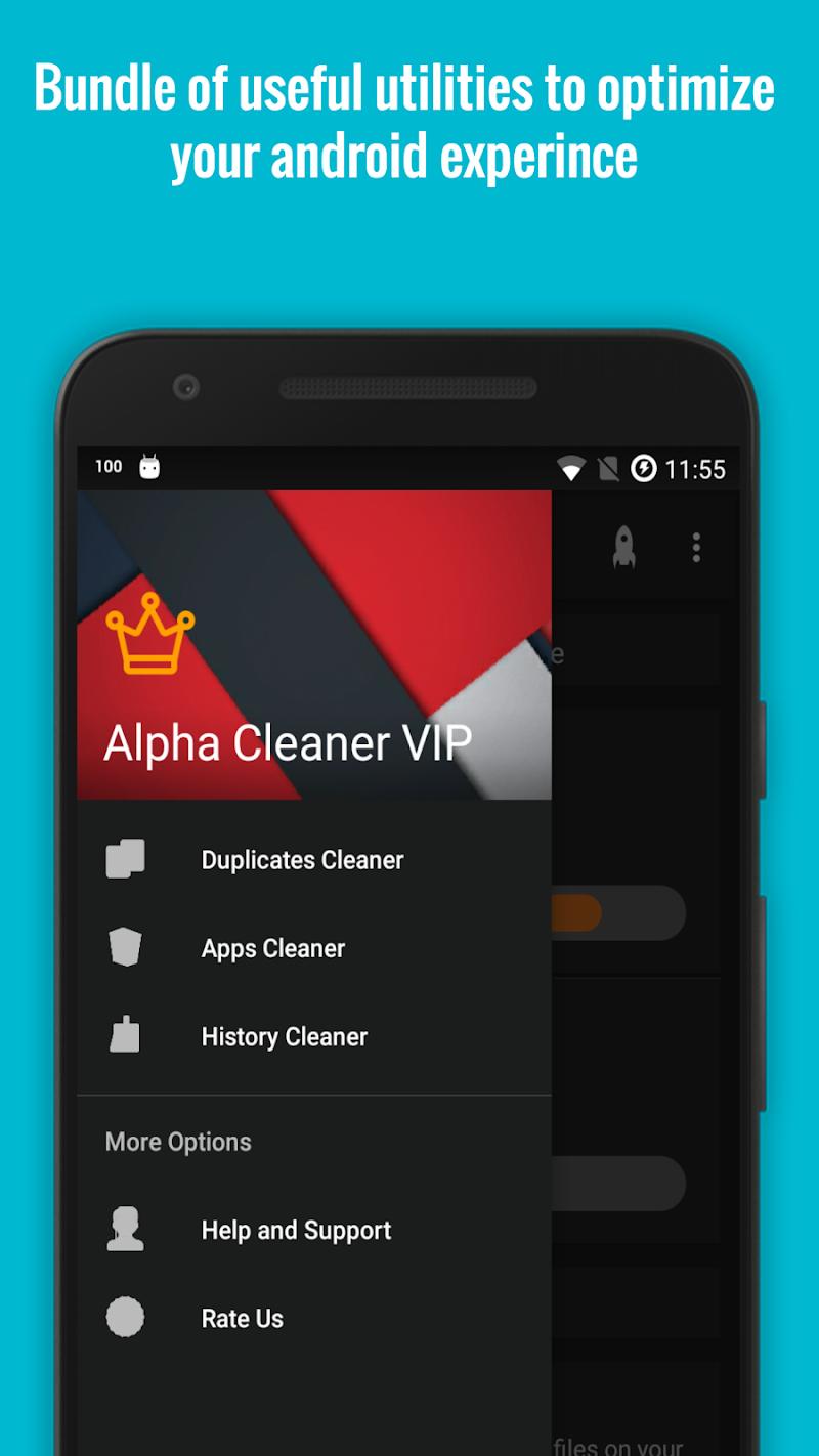 Alpha Cleaner VIP [Boost & Optimize] - 50% OFF Screenshot 2