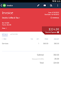 Screenshot of QuickBooks Online