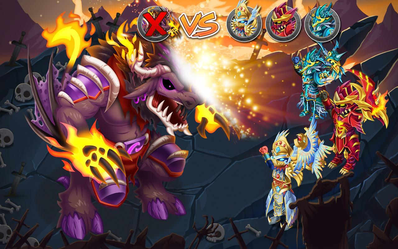 Knights & Dragons - Action RPG- screenshot
