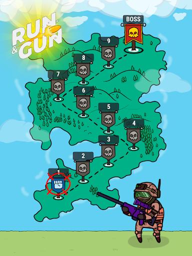 Run and Gun - king of the shooting games 1.9 de.gamequotes.net 5