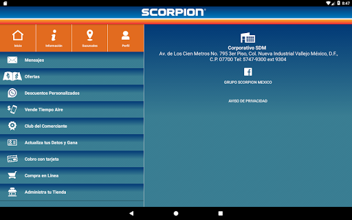 (APK) تحميل لالروبوت / PC Scorpion تطبيقات screenshot