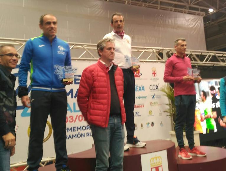 En la capital almeriense en el podio de Almerialva.
