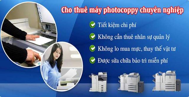 Dịch vụ Thuê máy photocopy quận PHÚ NHUẬN chuyên nghiệp nhất