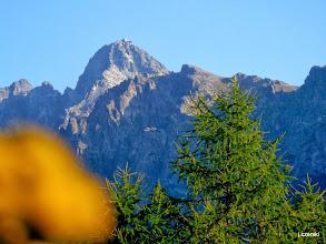 Photo: Wierzchołek Wielkiej Łomnickiej Baszty jest utworzony z zębatego grzebienia. http://pl.wikipedia.org/wiki/Wielka_%C5%81omnicka_Baszta
