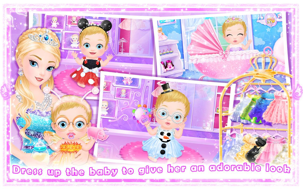 Princess New Babys Day Care Apl Android Di Google Play