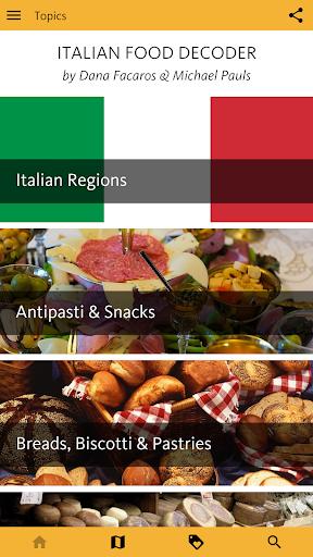 Italian Food Decoder screenshot 1
