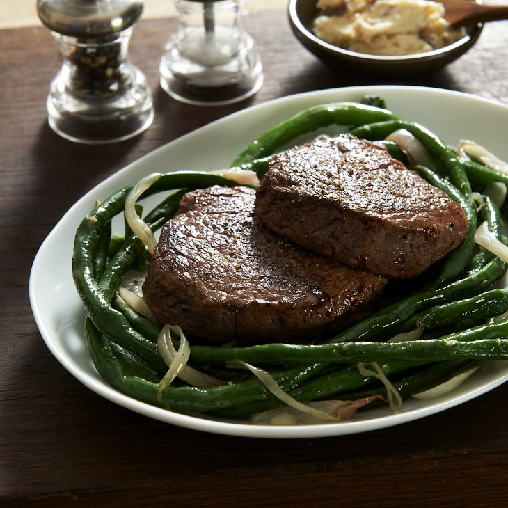 Tim Love'S Balsamic Tenderloin and Long Beans Recipe