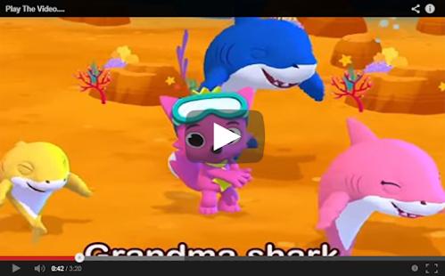 BABY SHARK CHALENGE VIDIO - náhled