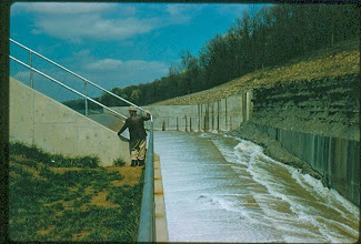 Photo: Spillway August 29th, 1958