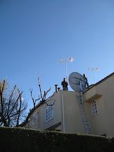Photo: ANTENA 1,80M SKY INGLES Boadilla, MADRID