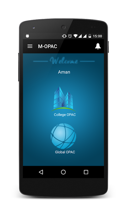 M-OPAC- screenshot