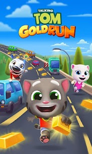 Talking Tom Gold Run Apk Download For Android and Iphone 8