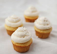 Photo: Coconut Cupcakes with Lemon Curd - For the recipe, go to: http://bit.ly/GKyhK4