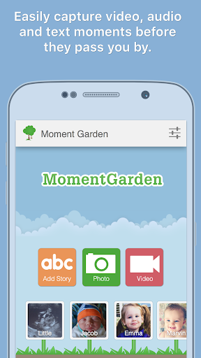 Moment Garden  Baby Photo Book Screenshot