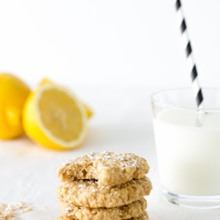 Lemon Honey Oatmeal Cookies.