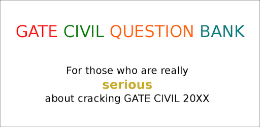 Gate Civil Question Bank - Apps on Google Play