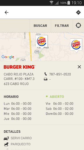 BURGER KING® Puerto Rico Screenshot