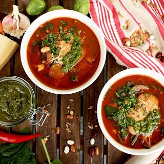Vegan Minestrone + 6 Meatless Monday Soup Recipes