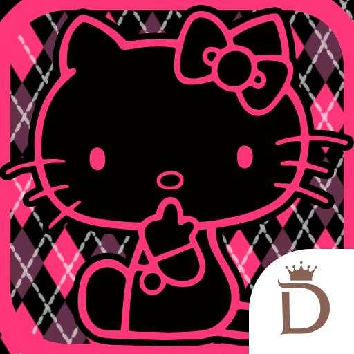 个人化のきせかえ検索『ハローキティ COOL☆』DRESSAPPS LOGO-記事Game