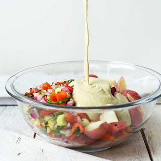 Simple Vegan Potato Salad.