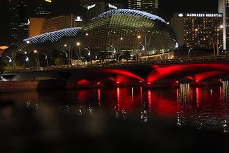 Photo: Year 2 Day 135 - Performing Arts Centre and Illuminated Bridge