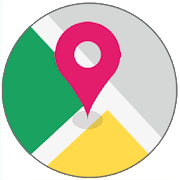 GPS Route Finder & Location Tracker - Navigation  Icon