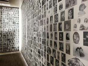 Photo: Memorial des martyrs de la Deportation had the most evocative display of Jewish culture in the ghettos that I've ever seen