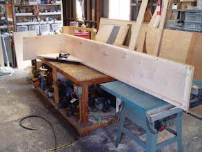 Photo: installing the welting