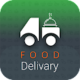Food delivery app with driver