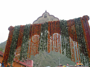 Photo: Arch in Badrinath temple