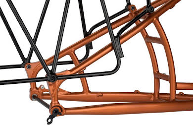 Salsa Blackborow Frameset, Copper alternate image 2