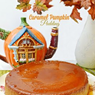 Caramel Pumpkin Pudding