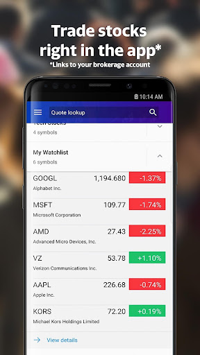 Yahoo Finance: Real-Time Stocks & Investing News 5.1.0 screenshots 4