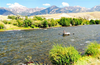 Photo: The mighty Madison River