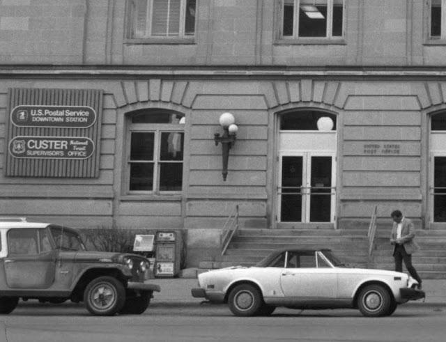 Billings, MT downtown post office, 1984