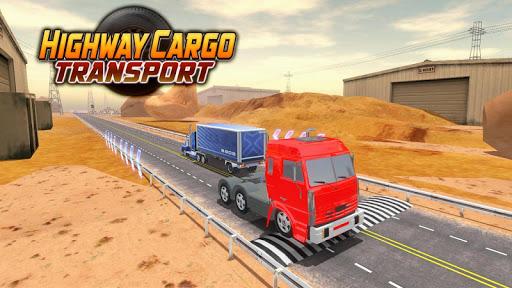Highway Cargo Truck Transport Simulator screenshot 7