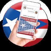 Puerto Rico Flag Keyboard - Elegant Themes