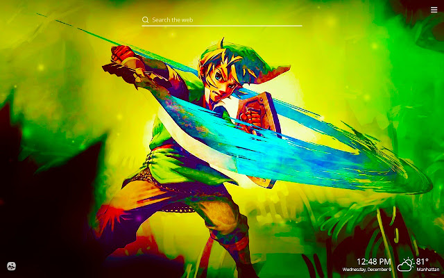 The Legend of Zelda HD Wallpapers New Tab