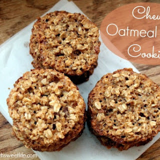 Chewy Oatmeal Cookies No Flour Recipes