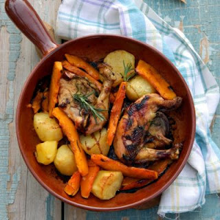 Rustic Chicken and Vegetable Dinner