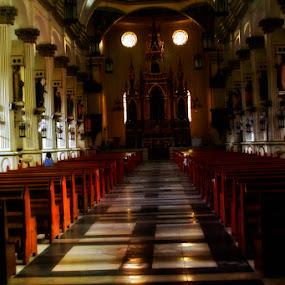 Molo church philippines by Yoy Escosura - Landscapes Travel