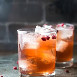 Pomegranate Apple Cider Vinegar Drink.