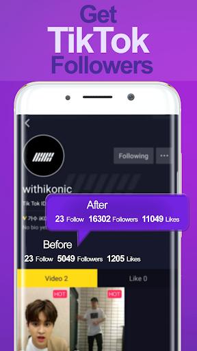 Followers for TikTok 1.0 screenshots 3
