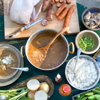 Duck and Oyster Gumbo.