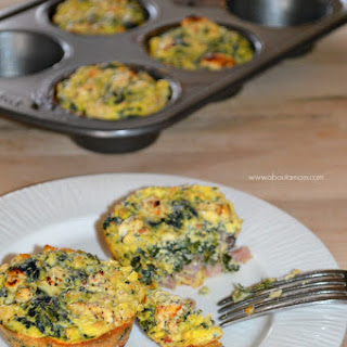 Greek Inspired Low Carb Egg Muffins.